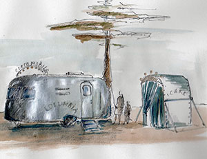 columbia airstream